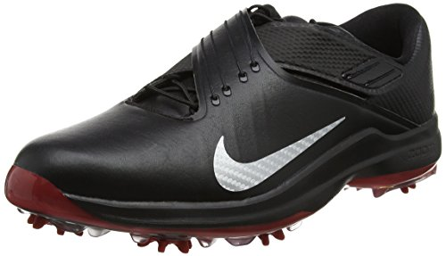 - Nike Men's TW'17 Golf Shoes, Black/Metallic Silver-Anthracite, 7.5 M US