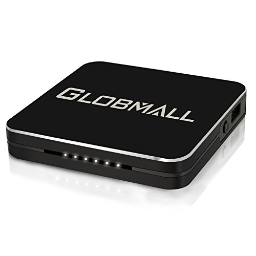 Globmall Game Capture Device, Hdmi Video Capture 1080P Recorders with Hdmi Input, Record PS4, Xbox One and Xbox 360, Live TV, Game Recorder Device , Support Microphone Input
