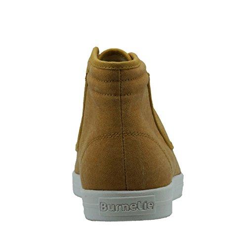 Burnetie Mens Brown York-Hi High Top Sneaker VuFkOXl