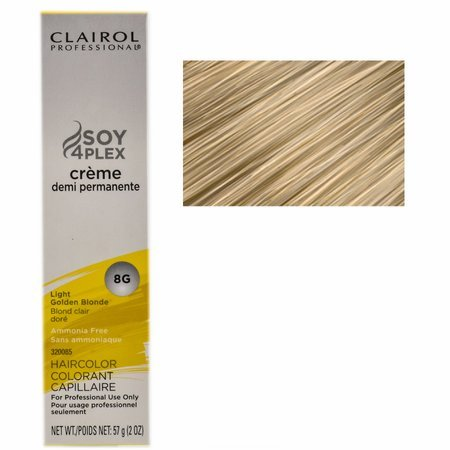 (Clairol Professional Creme Demi Permanente 8G-Light Golden Blonde (PACK OF 1))
