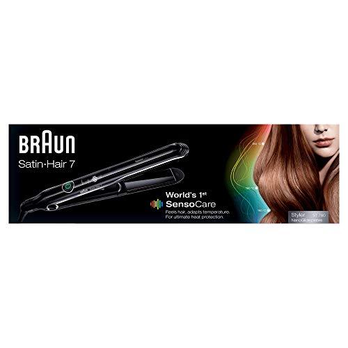 Braun ST780 Sensocare Satin Hair 7 Straightener, 220 Volts
