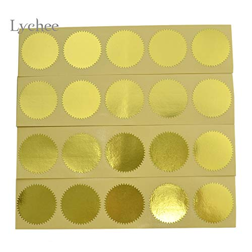 Cacys-Store - Sticker Embossing Stamp Scrapbooking Personalized DIY Embossing Seal Name Card Letterhead Setting Wedding Envelope