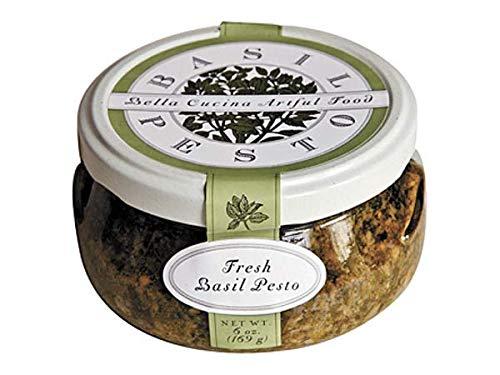 Spinach Pesto - Bella Cucina Gourmet Pesto Collection (Fresh Basil, Single)