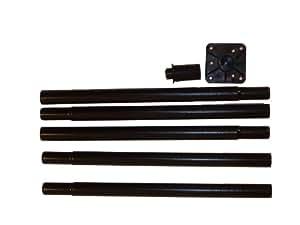 "Universal Pole Kit, 68"" Black"