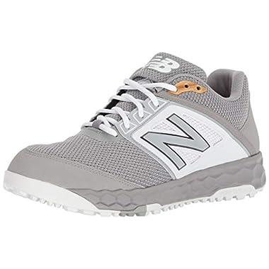 8f7598b89141 New Balance Men's 3000v4 Turf Baseball Shoe, Grey/White, ...