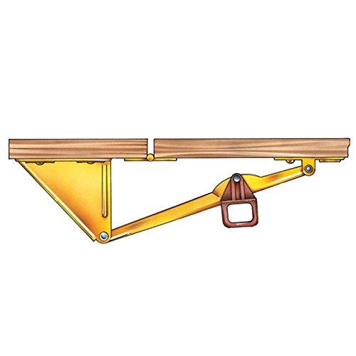 Drop Leaf Support for tables without aprons (Leaf Drop Corner)
