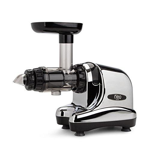 Oscar Neo Slow Juicer DA-1000 / Entsafter / Horizontaler Entsafter / Saftpresse - extrem leise - 200 Watt - BPA frei - 20 Jahre Garantie auf den Motor