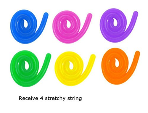 New 4 Stretch String Stretch sensory fidget toys adhd autism special needs therapy from Unknown