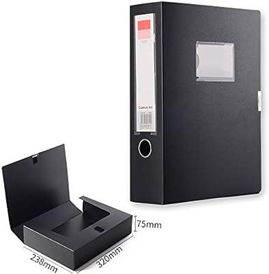 Storage 5 Piezas Caja de Almacenamiento Caja de Archivo Caja de Archivo Caja de Datos Caja de Datos de plástico A4 Carpeta de Oficina (238 * 320 * 75mm) (Color : B): Amazon.es: Hogar