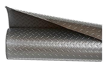 Silver Diamond Plate Plastic Utility Runner (25') Sterling Brands