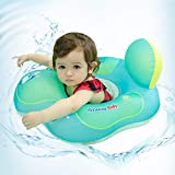 relaxing baby Swimming Baby Ring Floats for Pool Cute Toddler Floaties Seat Inflatable Swimming Boat Ring Accessories for The Age of 3 Months-6 Years (L, B1017)