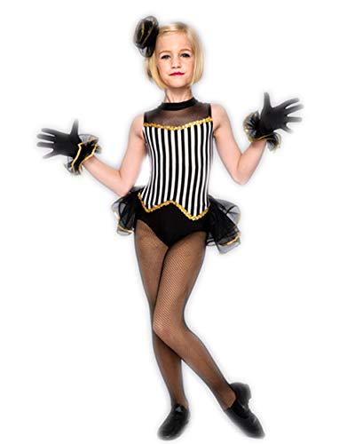 Aikescaike Children's Jazz Dance Performance Clothing Ballet Costumes Dresses for Girls (SC(95-110CM))