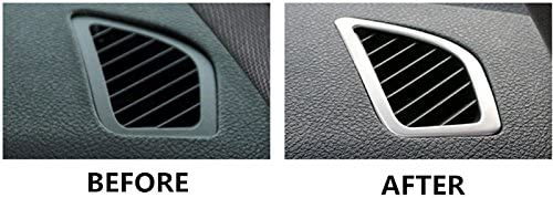 HOTRIMWORLD Interior Dashboard Side Air Vent Outlet Cover Trim