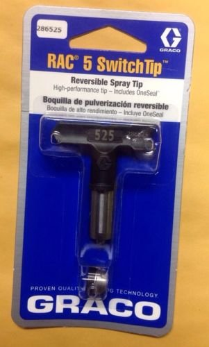 Graco 286525 Rac 5 SwitchTip Reversible Spray Tip #525