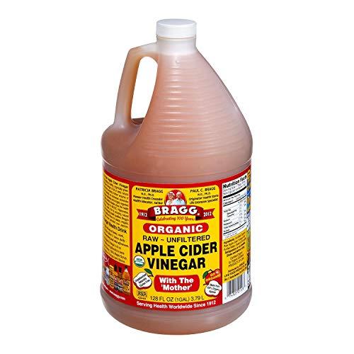 Bragg Organic Raw-Unfiltered Apple Cider Vinegar 128 fl.oz. (1 Gallon Jug) 1