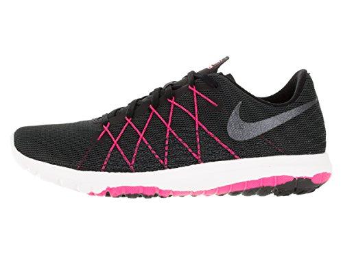 Nike Wmns Flex Fury 2 - Zapatillas de running Mujer Negro (Blk / Mtlc Hmtt-Hypr Pnk-Anthrct)
