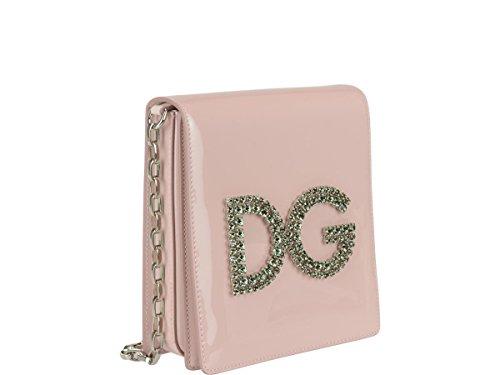 Sac Cuir Épaule Dolce E Porté Gabbana BB6533AS2558H402 Rose Femme XATqwY