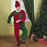 Felt Elf Adult Mens - Standard - Chest Size 42-46