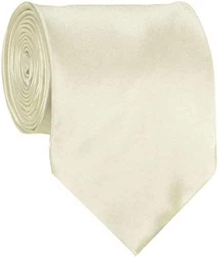 Solid Necktie for Tuxedo and Formal Wear