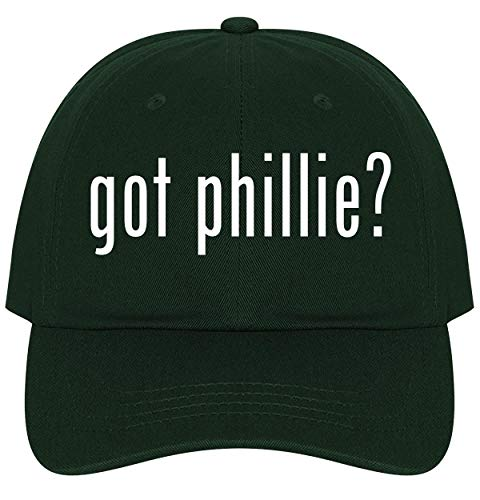 The Town Butler got Phillie? - A Nice Comfortable Adjustable Dad Hat Cap, Forest ()