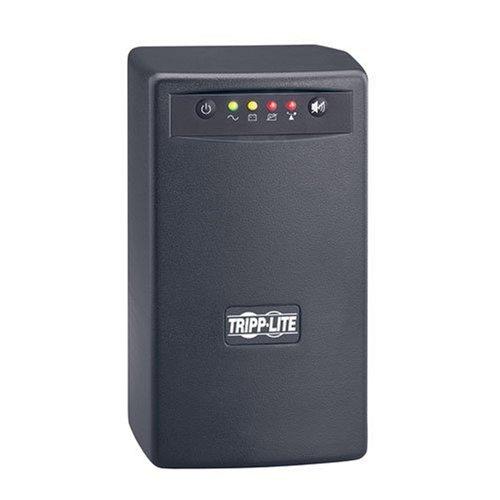 Tripp Lite OmniSmart 500VA 300W Line-Interactive UPS, 120V, 6 Outlets, Tower, USB Port (OMNISMART500) (120v Outlet Line 6)
