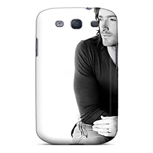 Tpu Shockproof/dirt-proof Men Male Celebrity Thoughtful Hugh Jackman Cover Case For Galaxy(s3)