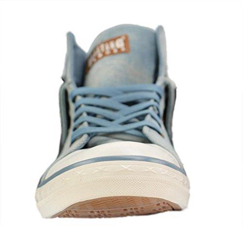Femme Sneakers Hellblau 514 Hautes Mustang 88 Blau 88 1146 qtRCBBwX