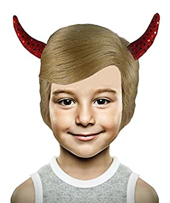 Mr. US President Wig II with Devil Horns, Blonde Adult HM ...