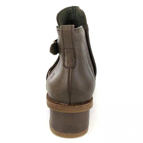 El Naturalista Womens N5104 Kentia Leather Boots Plume Land