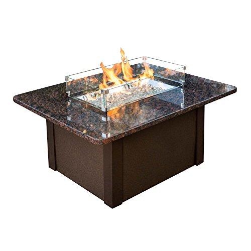 Outdoor Great Room GS-1224-BRN-K Grandstone Fire Pit Napa...