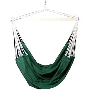 Kronenburg Handel 4260161652562 - Hamaca, color verde