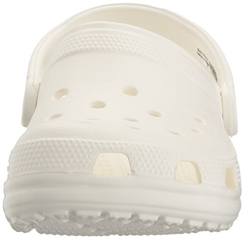 crocs Unisex Classic Clog,White,12 M US Men's / 14 M US Women's