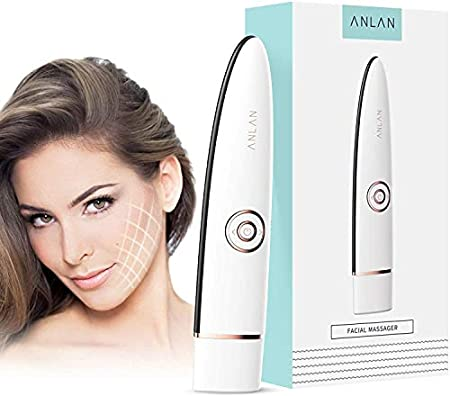 ANLAN Rejuvenecedor Facial Radiofrecuencia, Masajeador Facial con RF & EMS para Antiarrugas, Anti-envejecimiento, Rejuvenecimiento, Cuidado Facial