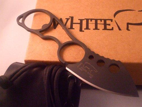 White River Knife & Tool Knucklehead Knife Black Ionbond CPM S30V Steel WRKNU-CBI