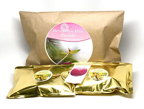 - Ancient Sunrise Henna For Hair Blonde Kit