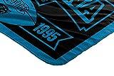 """NFL Carolina Panthers """"Marque"""" Fleece Throw"""