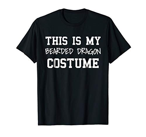 This Is Bearded Dragon Costume Funny Halloween Party T-Shirt ()