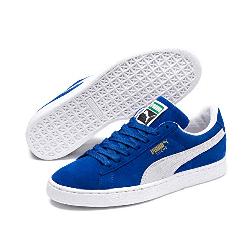 Puma Suede Classic Sneaker,olympian Bluewhite,11.5 M Us Men's