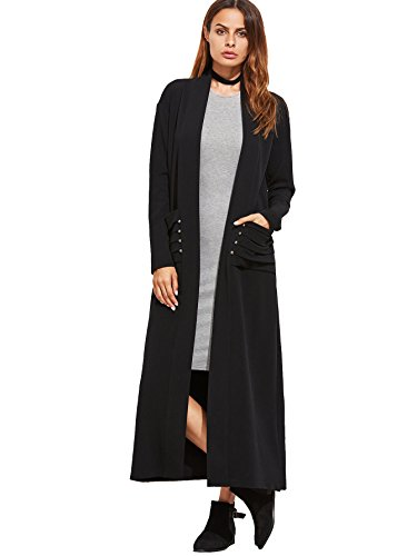 MakeMeChic Womens Pocket Casual Cardigan product image