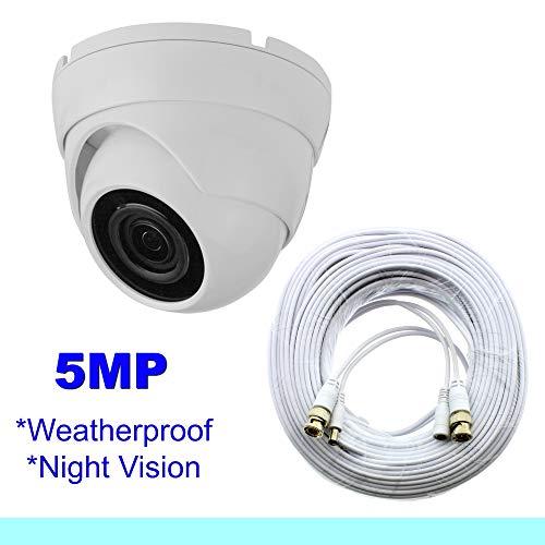 (Samsung Wisenet Compatible 5MP Dome Security Camera f/SDH-B84045BF, SDH-C85105BF)