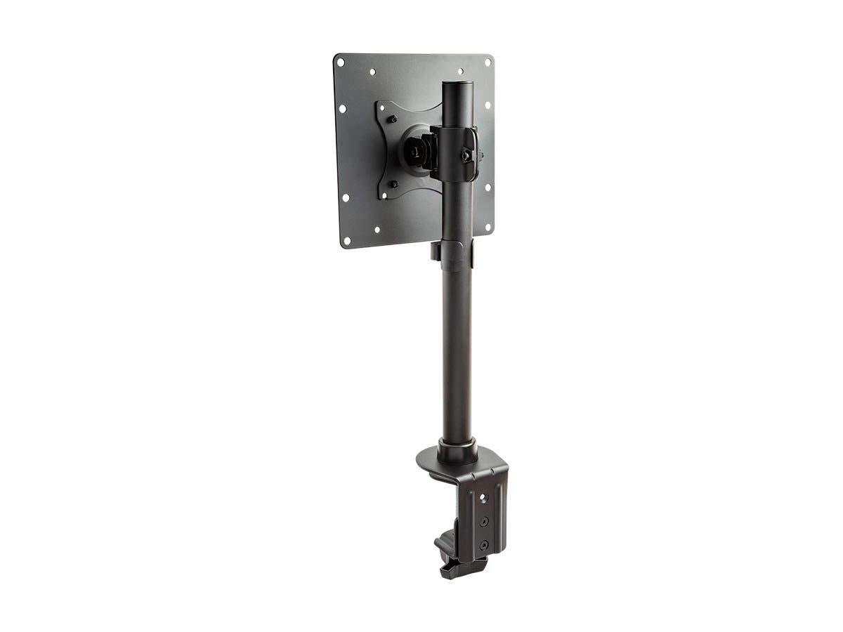 Monoprice Adjustable Tilting Monitor Mount - Black | Compatible with Screens up to 42 Inches - Workstream Collection