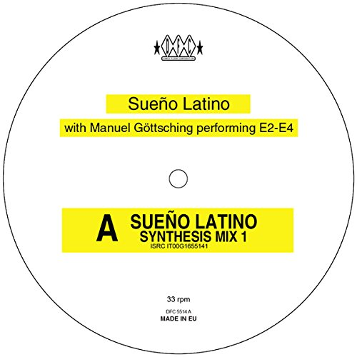 Album Art for Sueno Latino by SUENO LATINO WITH MANUEL GOTTSCHING PERFORMING E2-E4