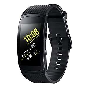 Samsung SM-R365NZKNXSA Smart Watch Gear Fit2 Pro Smart Fitness Band (Australian Version), Black