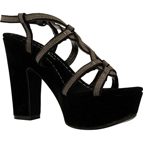 Sandalias y chanclas para mujer, color Negro , marca ALMA EN PENA, modelo Sandalias Y Chanclas Para Mujer ALMA EN PENA ROMY 12 Negro Negro