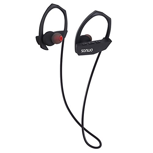 Bluetooth Headphone, Sanwo Wireless Sweatproof ...