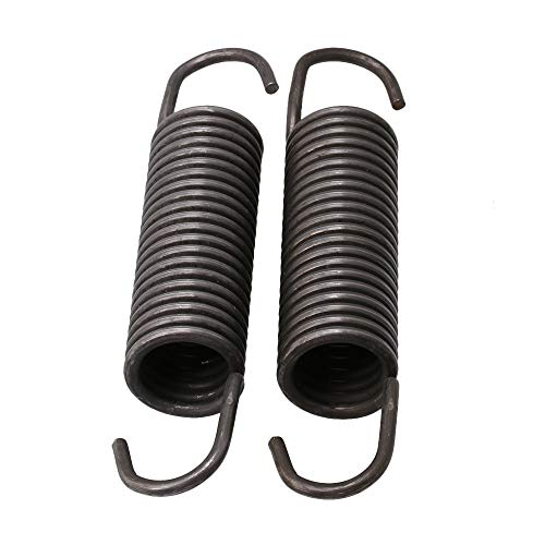 (BQLZR 8.8x3x16.2cm Titanium Color Metal Washing Machine Suspension Spring 280159 Replacement for Washer Parts Pack of 2)