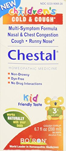 Boiron Chestal Children's Cold and Cough Syrup, 6.7 Fluid Ounce -