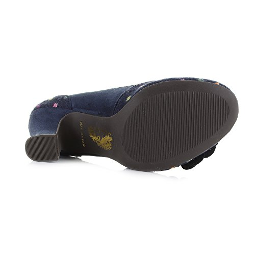 RUBY SHOO Ruby Shoo Womens Shoe Lola Navy Multi