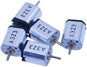 5Pcs Ultra-Miniature DC Motor DC3V 44000rpm Dia 1mm High-Speed Small Micro Motor