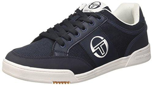 Hommes Sergio Tacchini Topspin Bleu Baskets Msh (marine 02)